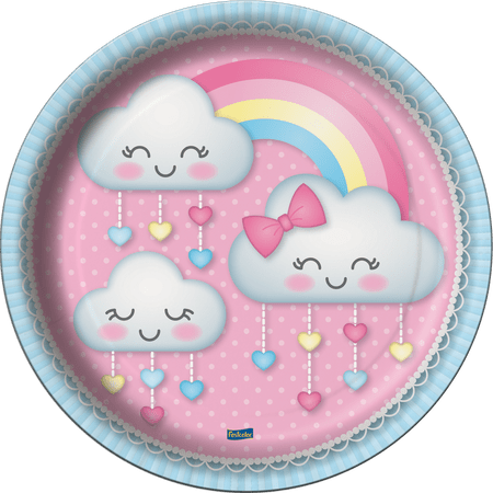 prato-descartavel-chuva-de-amor-festcolor-8-unidades