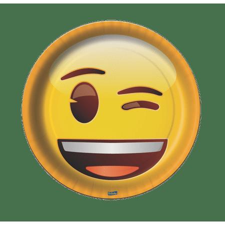 prato-descartavel-emoji-festcolor-8-unidades