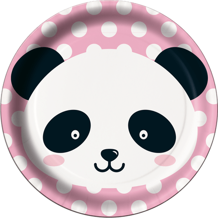 prato-descartavel-panda-festcolor-8-unidades