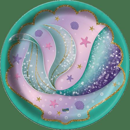 prato-descartavel-sereia-festcolor-8-unidades