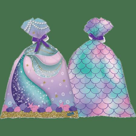 sacola-surpresa-sereia-festcolor-8-unidades