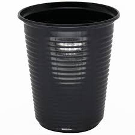 Copo-Plastico-Descartavel-Preto-200ml-50-unidades