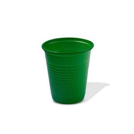 Copo-Plastico-Descartavel-Verde-Escuro-200ml-50-unidades