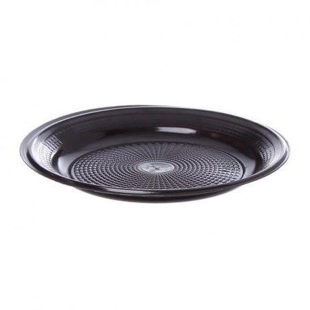 prato-descartavel-raso-15cm-preto-10-unidades