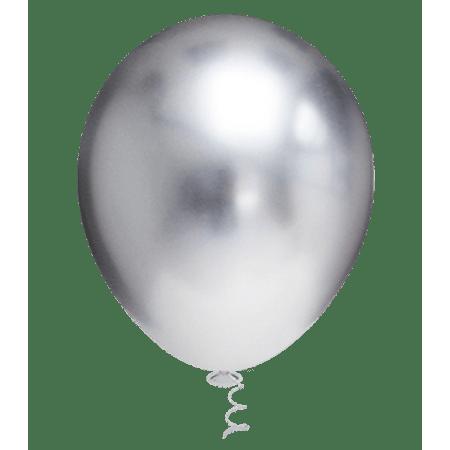 balao-pic-pic-n5-platino-prata-25-unidades