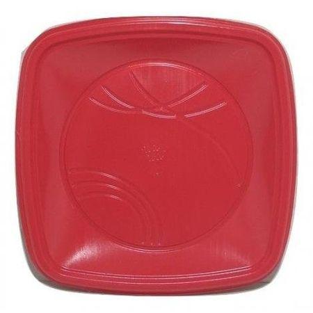 prato-descartavel-raso-quadrado-15cm-vermelho-10-unidades