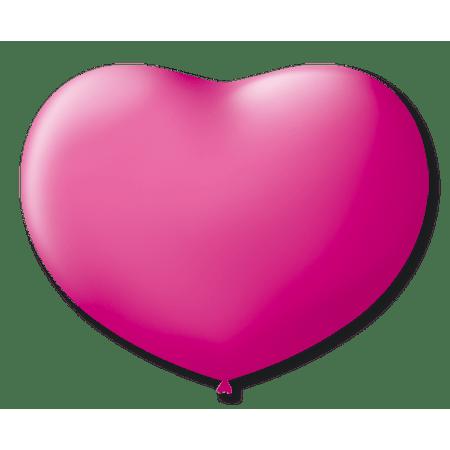 balao-sao-roque-coracao-n6-rosa-50-unidades