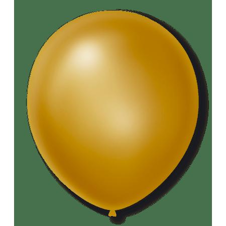 balao-sao-roque-n7-cintilante-dourado-50-unidades