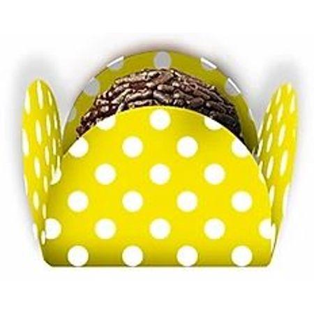porta-forminha-para-doces-amarelo-poa-branco-50-unidades