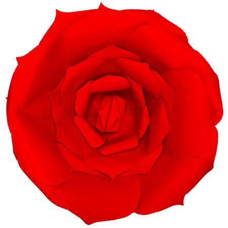 flor-decorativa-vermelha