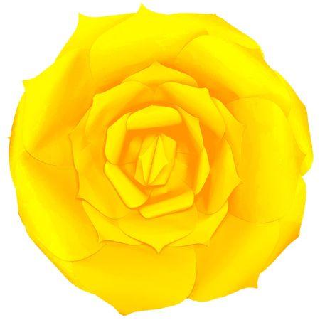 flor-decorativa-amarela
