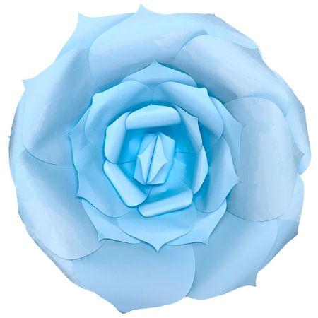 flor-decorativa-azul-clara