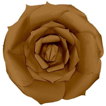 flor-decorativa-dourada