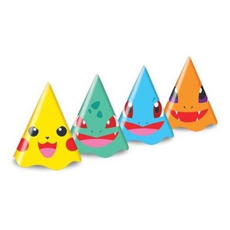 chapeu-de-aniversario-pokemon-junco-8-unidades