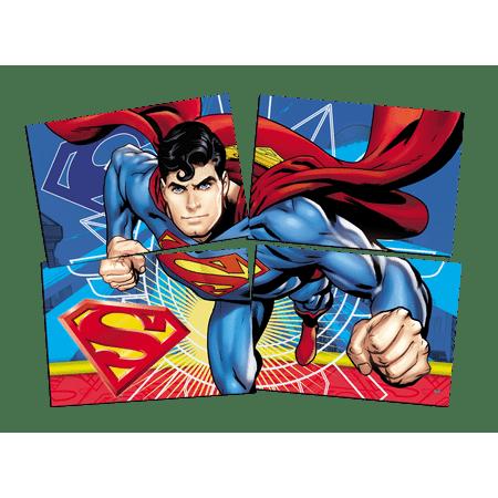 painel-4-laminas-super-homem-festcolor