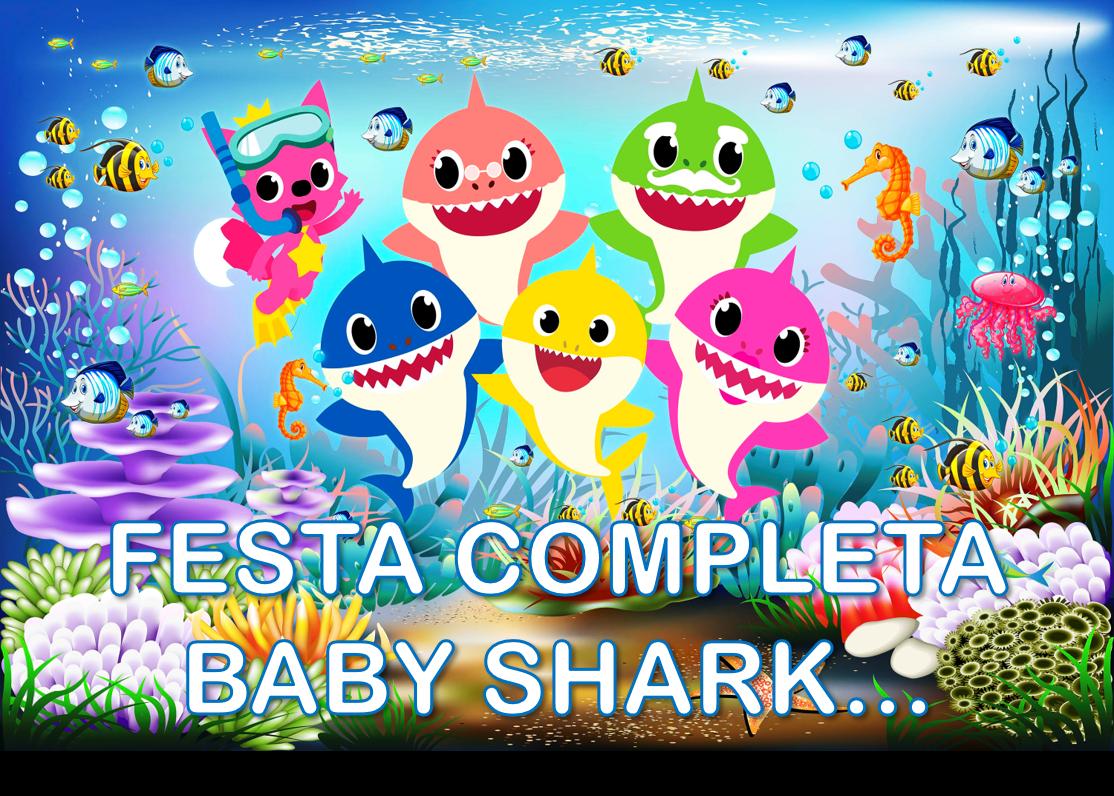 BANNER BABY SHARK