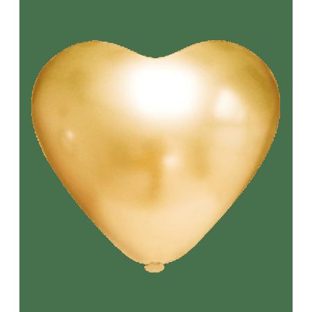 balao-picpic-coracao-platino-dourado