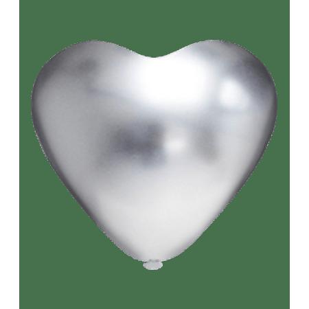 balao-picpic-coracao-platino-prata