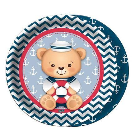 prato-descartavel-ursinho-marinheiro-festcolor