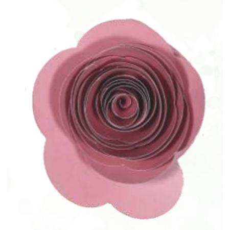 flor-papel-botao-rosa-rosa-seco
