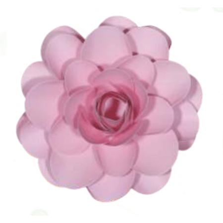flor-papel-lotus-rosa-claro