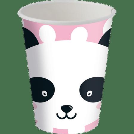 copo-de-papel-descartavel-panda-festcolor-8-unidades