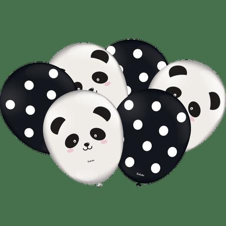 balao-de-latex-panda-festcolor-25-unidades