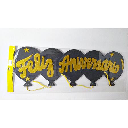 faixa-feliz-aniversario-preta-com-dourado-glitter