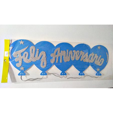 faixa-feliz-aniversario-azul-com-prata-glitter