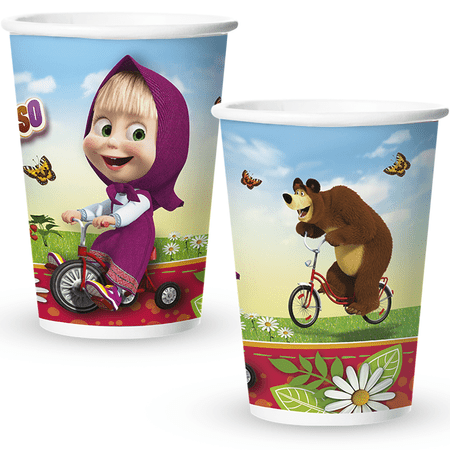 copo-de-papel-descartavel-masha-e-o-urso-regina-8-unidades