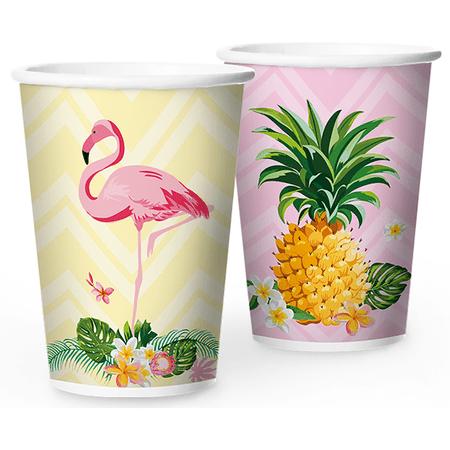 copo-de-papel-descartavel-flamingo-regina