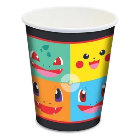 copo-de-papel-descartavel-pokemon-junco-8-unidades-II