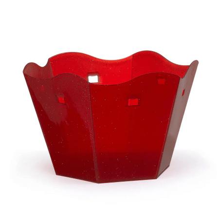 cachepot-sextavado-vermelho