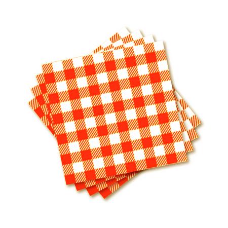 guardanapo-de-papel-xadrez-laranja