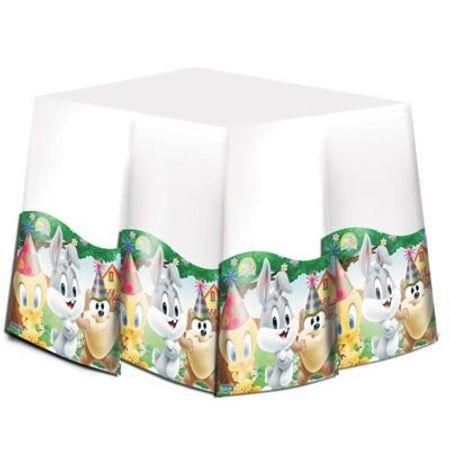 toalha-de-mesa-baby-looney-tunes-festcolor