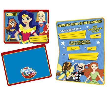 Convite-de-Aniversario-Super-Hero-Girl-08-unidades-Regina-Festas
