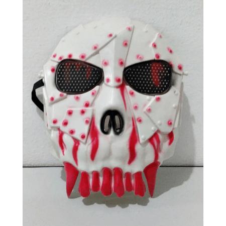 mascara-caveira-vermelha