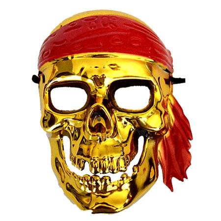 mascara-caveira-pirata-dourada
